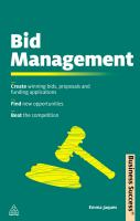 Bid Management