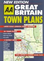 AA Great Britain Town Plans