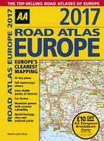 AA Road Atlas Europe