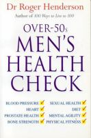 Over-50s Men's Health Check