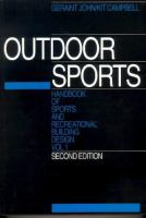 Handbook of Sports and Recreational Building Design