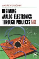 Beginning Analog Electronics Through Projects