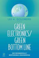 Green Electronics, Green Bottom Line