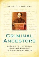 Criminal Ancestors