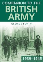 Companion to the British Army 1939--45