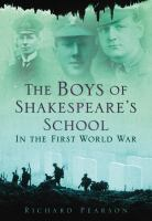 Boys of Shakespeare's School