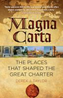 Magna Carta in 20 Places