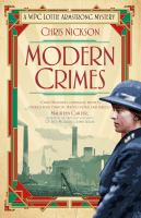 Modern Crimes  WPC Lottie Armstrong Mystery