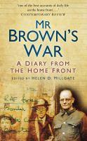 Mr Brown's War
