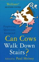 Can Cows Walk Down Stairs?