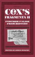 Cox's Fragmenta II