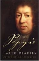 Pepys's Later Diaries