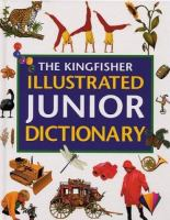 The Kingfisher Illustrated Junior Dictionary