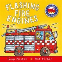 Flashing Fire Engines