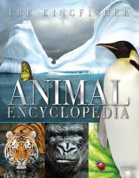 The Kingfisher Animal Encyclopedia