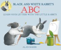 Black and White Rabbit's A B C