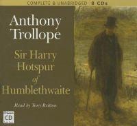 Sir Harry Hotspur of Humblethwaite