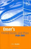 Enser's Filmed Books and Plays