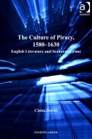 The Culture of Piracy, 1580-1630