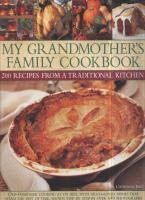 My Grandmother's Family Cookbook