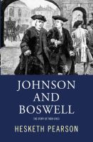 Johnson And Boswell