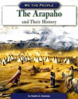 The Arapaho and Their History