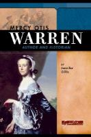 Mercy Otis Warren : author and historian