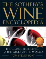 The Sotheby's Wine Encyclopedia