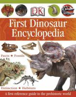 First Dinosaur Encylopedia
