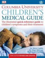 Columbia University, Department of Pediatrics Children's Medical Guide