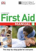 First Aid Manual