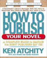How to Publish your Novel