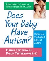 Does your Baby Have Autism?