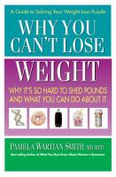 Why You Can't Lose Weight
