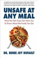 Unsafe at Any Meal