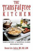 The Trans Fat Free Kitchen