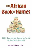 The African Book of Names