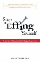 Stop *effing Yourself