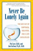 Never Be Lonely Again