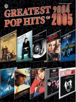 Greatest Pop Hits of 2004 [and] 2005