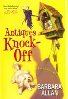 Antiques Knock-off