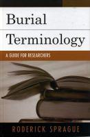 Burial Terminology