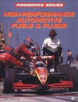 High-performance Automotive Fuels & Fluids