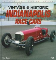 Vintage & Historic Indianapolis Race Cars