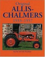 Original Allis-Chalmers, 1933-1957