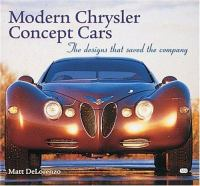 Modern Chrysler Concept Cars