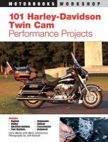 101 Harley-Davidson Twin Cam Performance Projects