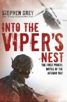Into the Viper's Nest