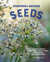 Starting & Saving Seeds