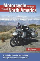 Motorcycle Journeys Through North America